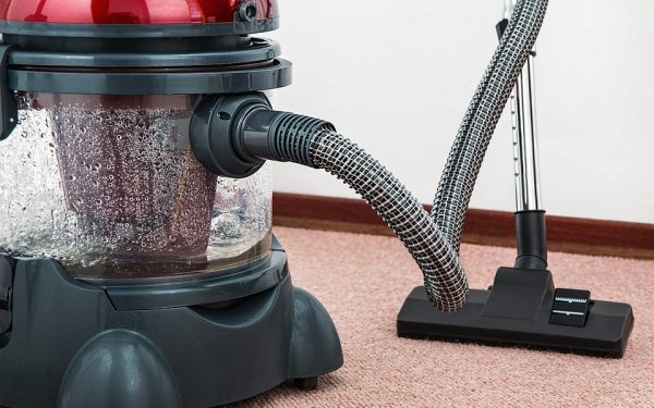 The Effects Of Switching On A Vacuum Cleaner In Zero Atmosphere